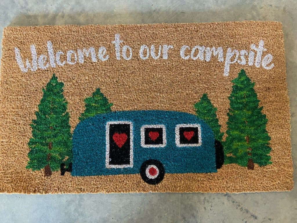 riverview campground gift shop welcome mat