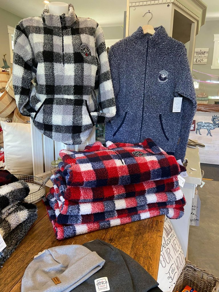 riverview campground gift shop cozy sweaters