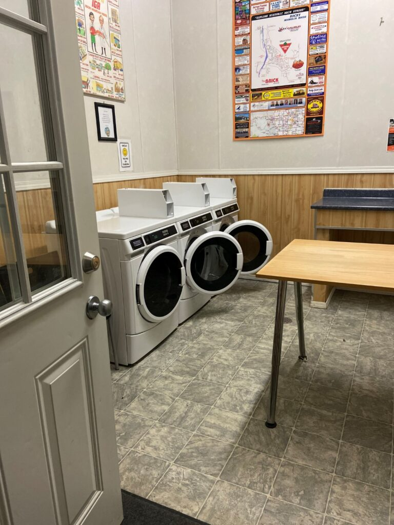 riverview campground laundry washers